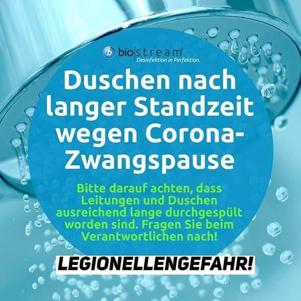 Gefahr durch Legionellen